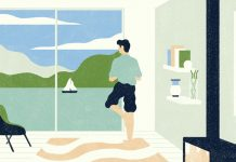 Editorial illustrations by Andrea Mongia