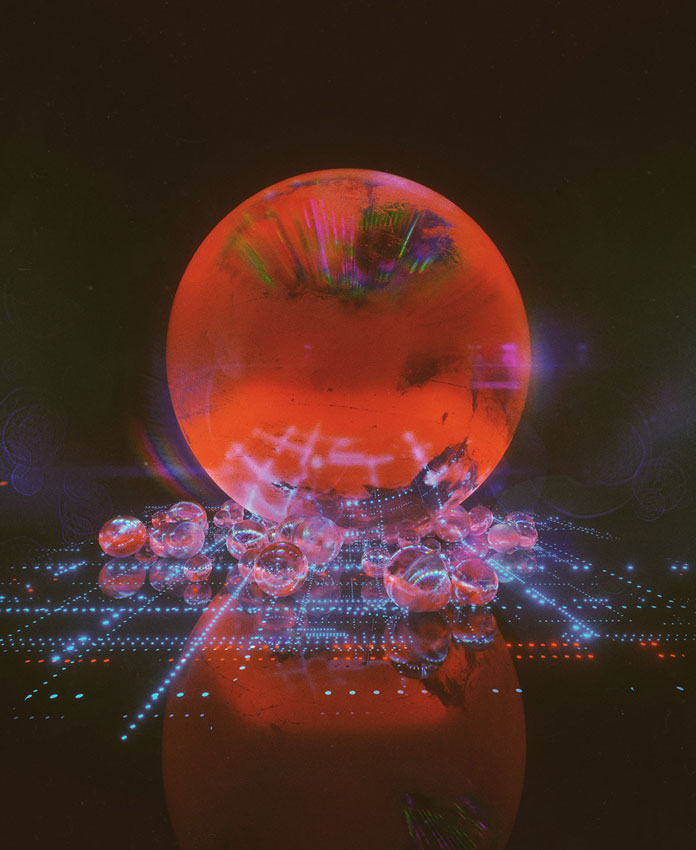Everydays by beeple (mike winkelmann), Cinema4D renderings