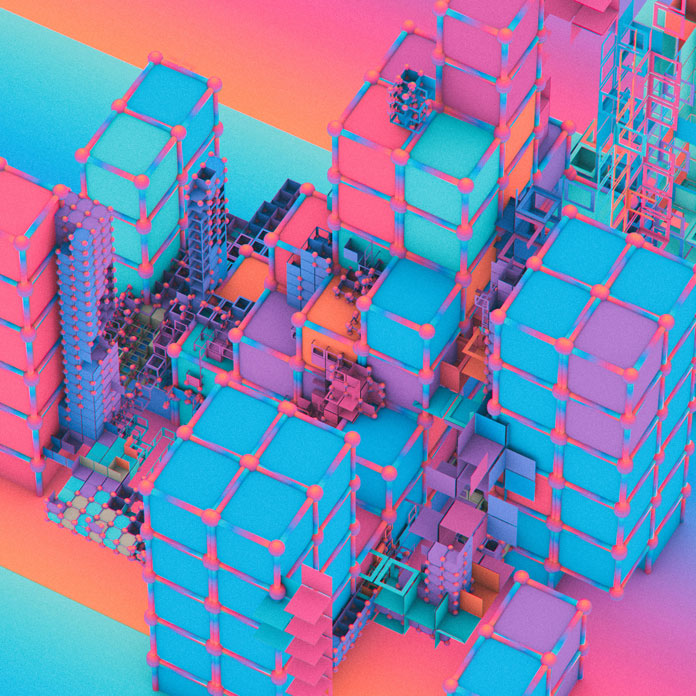 Everydays by beeple (mike winkelmann), More than Tetris