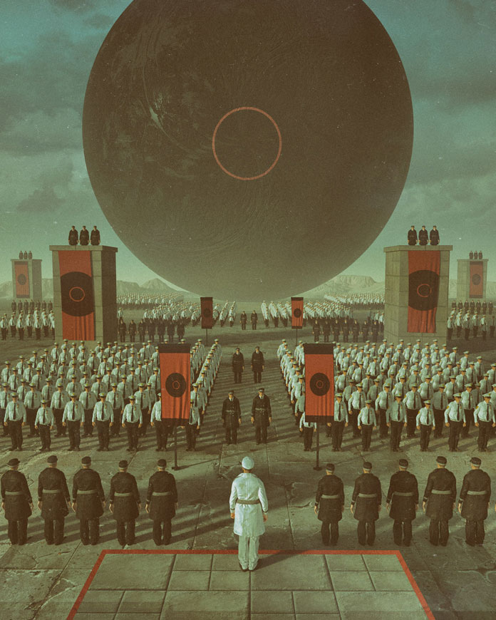 Everydays by beeple (mike winkelmann), Totalitarianism