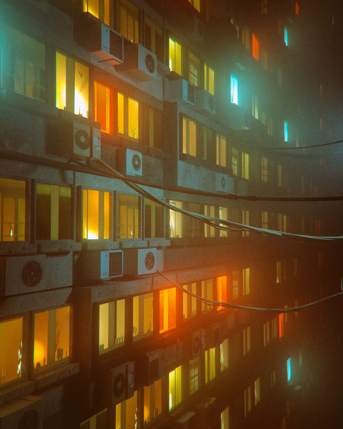 Everydays by beeple (mike winkelmann), Windows and air conditioning