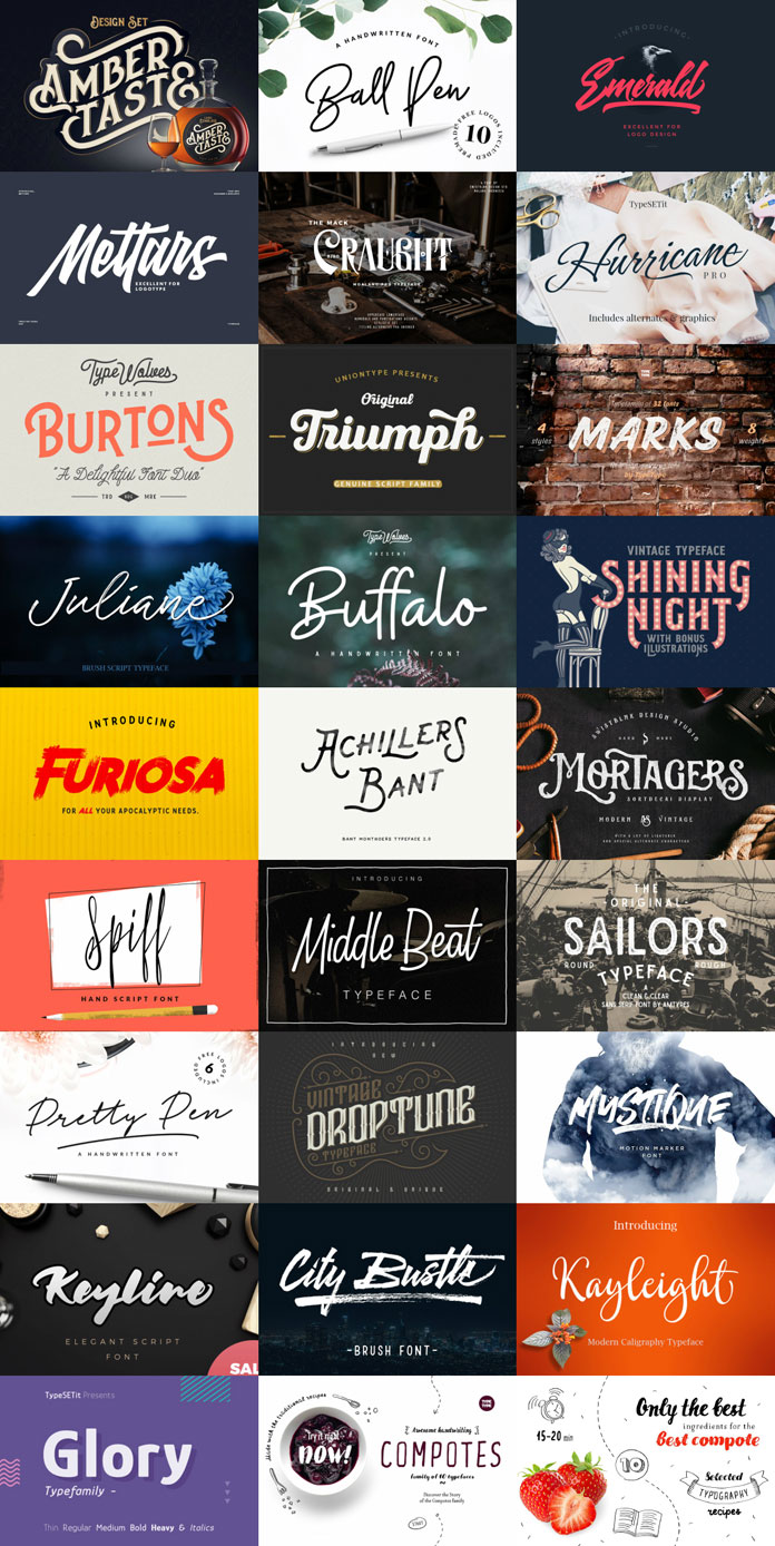 Fontabulous Font Bundle from Pixelo.