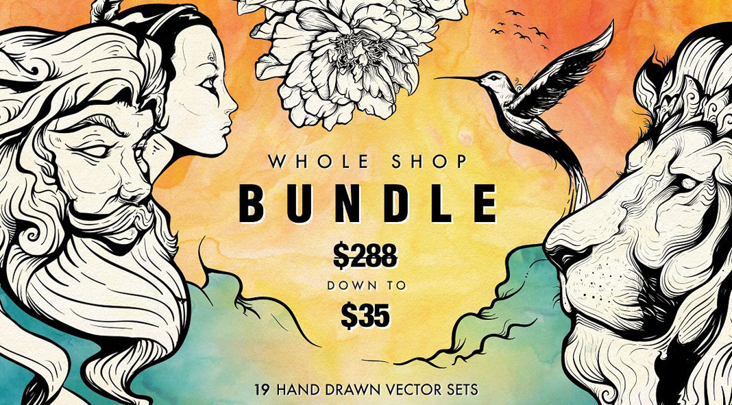 Hand Drawn Vector Illustrations – Big Deal