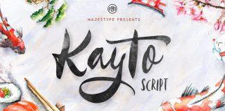 Kayto - multiple classification type family from Majestype.
