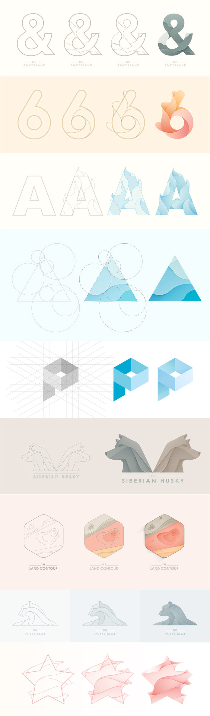 Logo Designs – Process Case Studies by Yoga Perdana
