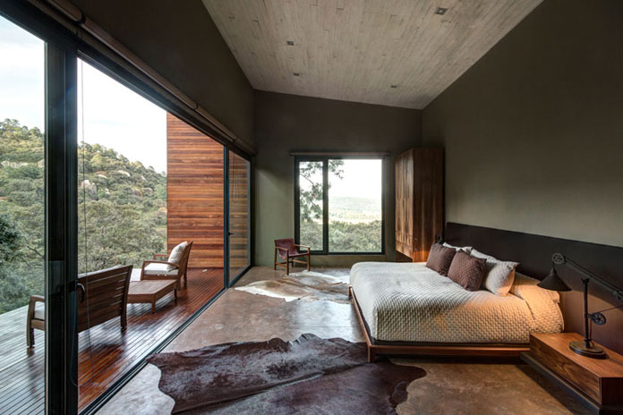 Modern bedroom design, GG House by Elías Rizo Arquitectos.