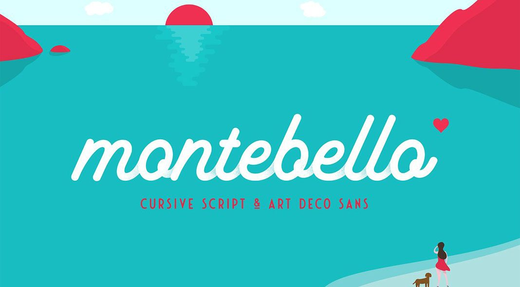 Montebello type collection by Ian Barnard.