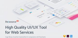 Resource UI/UX tool kit for web and mobile projects.