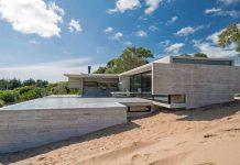 VP House in Costa Esmeralda, Argentina by architect Luciano Kruk.