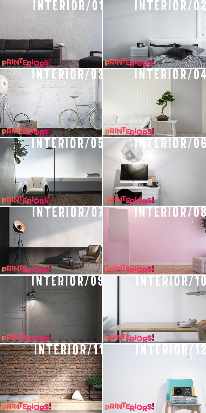 12 interior templates.