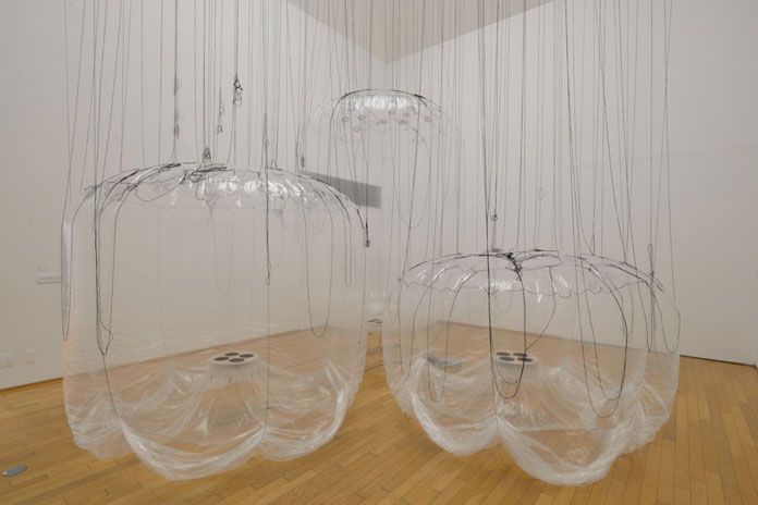 Yasuaki Onishi, balloons of Edges.
