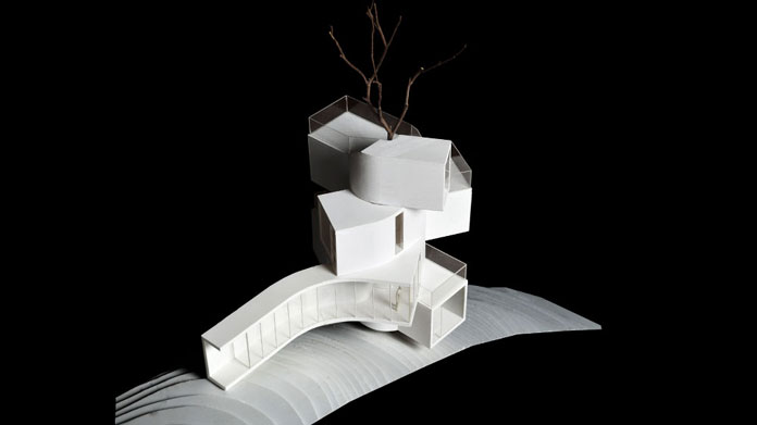 Qiyunshan Tree House by Bengo Studio, Model.