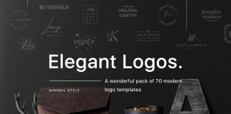 70 modern logo templates by William Hansen.