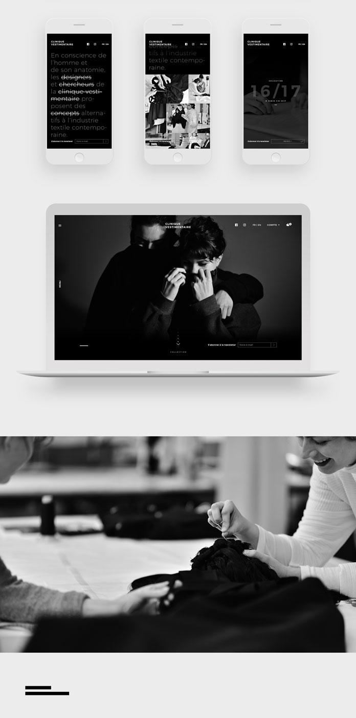 Web and mobile design.