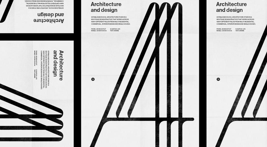 A44 graphic design and brand development by Molto Bureau.
