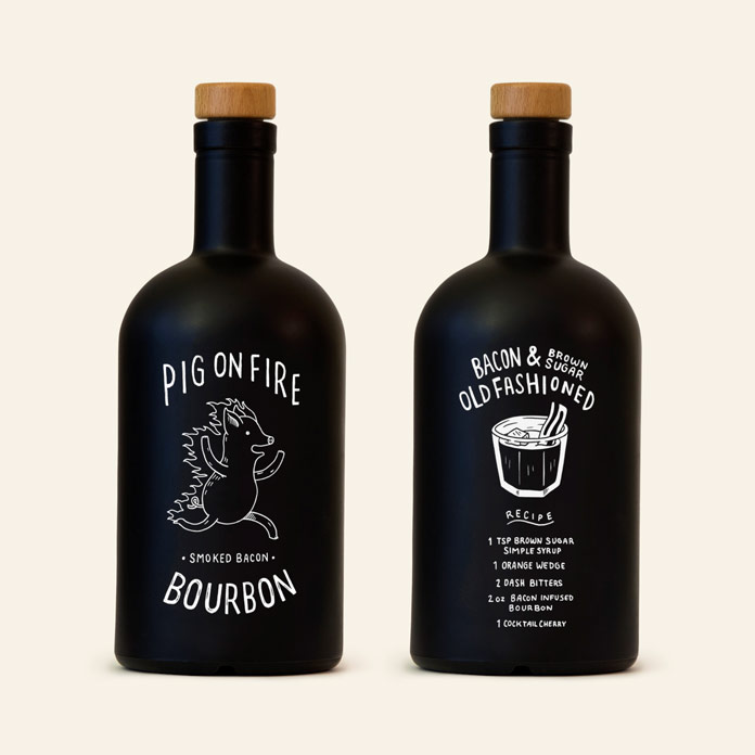 Bourbon Bottle Design and Typography