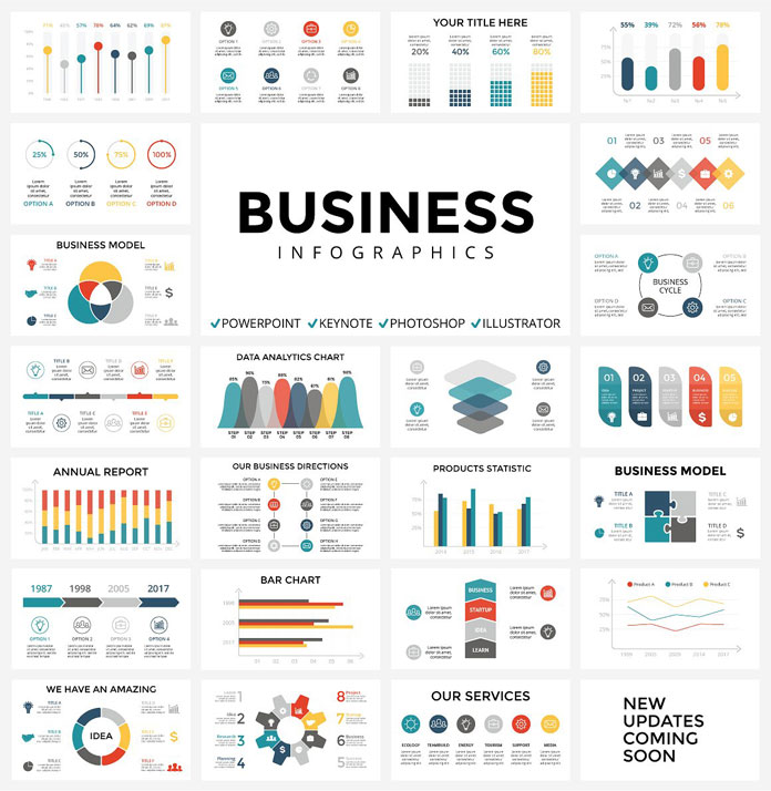 Infographics Templates – Huge Collection plus Free Updates
