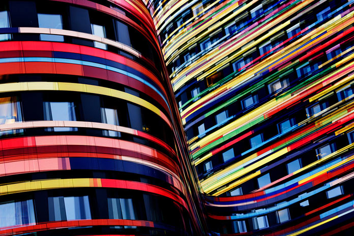 Carsten Witte, curves of colors.