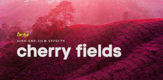 Cherry Fields – Infrared Photoshop action.