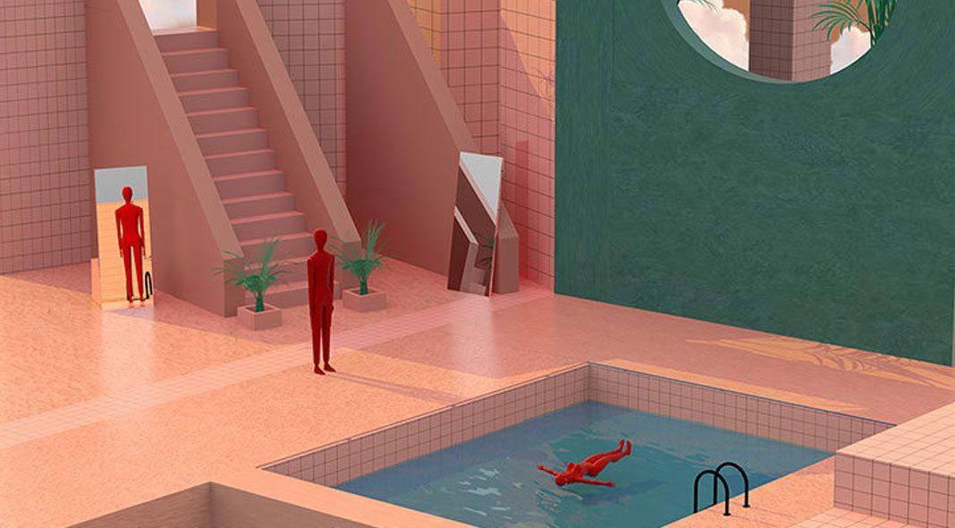 Dreamlike illustrations by Tishk Barzanji.