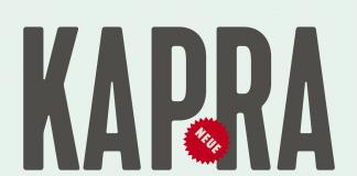 Kapra Neue font family by Typoforge Studio.