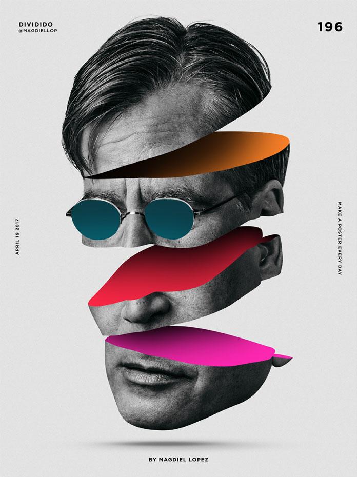 Magdiel Lopez poster design, Davidido