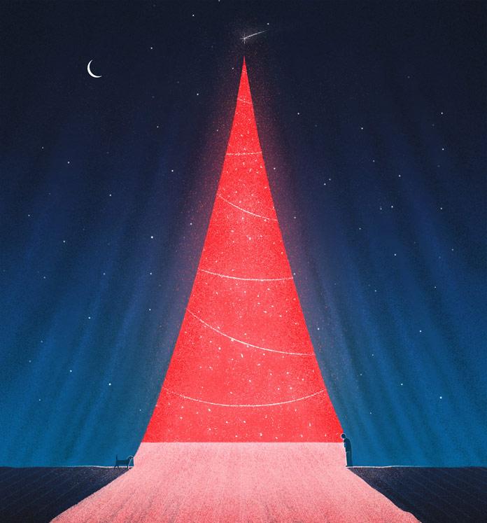 Marco De Masi Illustration, Christmas illustration