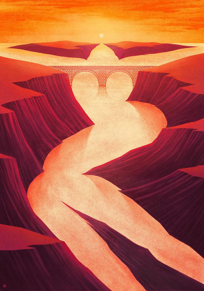 Marco De Masi Illustration, Nature Calls