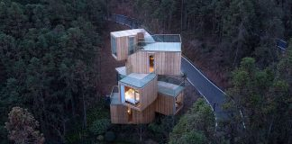 Qiyunshan Tree House by Bengo Studio, Qiyunshan Tree House by Bengo Studio.