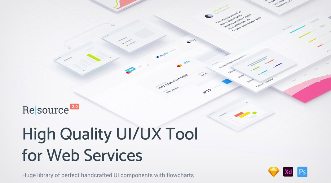 Resource: Web Design UI/UX Tool Kit - Download