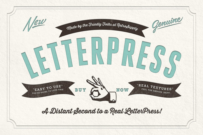 RetroSupply Co. LetterPress