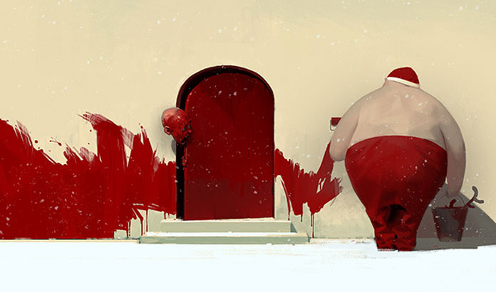 Sergey Kolesov, Red door.