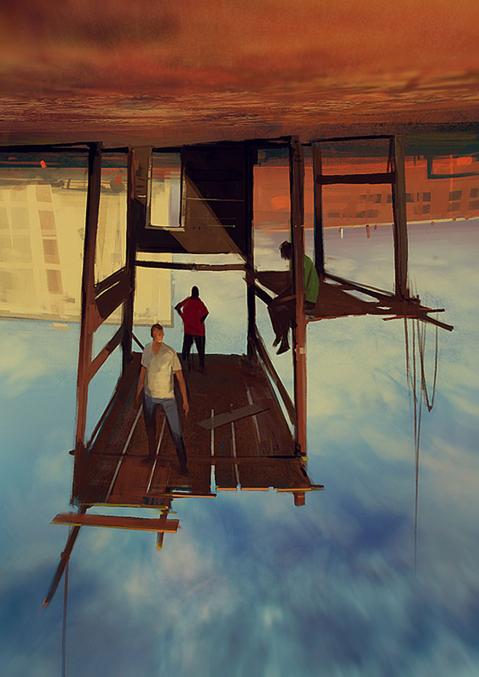 Sergey Kolesov, Reversed gravity.