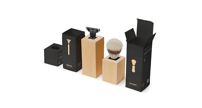 Shaving Set Packaging