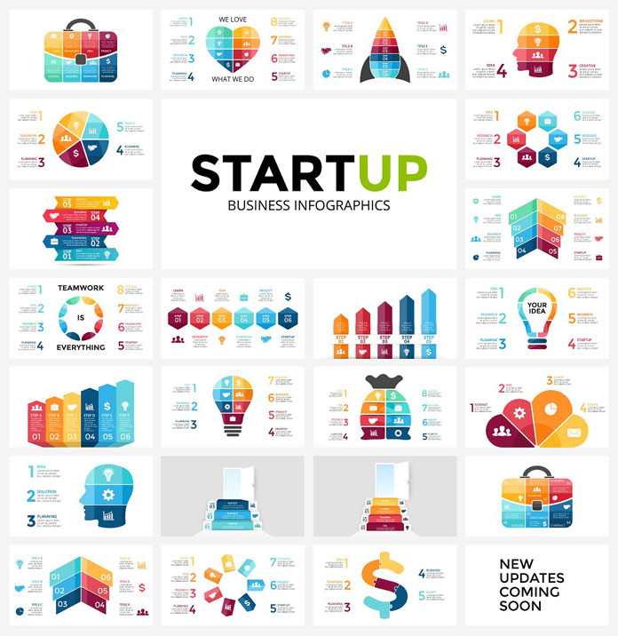 Startup infographics.