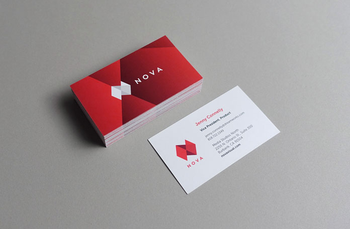 TRÜF, NOVA business cards – front and back.