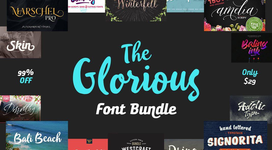 The Glorious Font Bundle