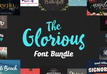 The Glorious Font Bundle