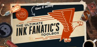 The Ink Fanatic's Toolbox - retro texture bundle for Adobe Photoshop