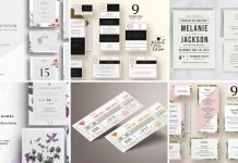 Top Wedding Invitation Templates