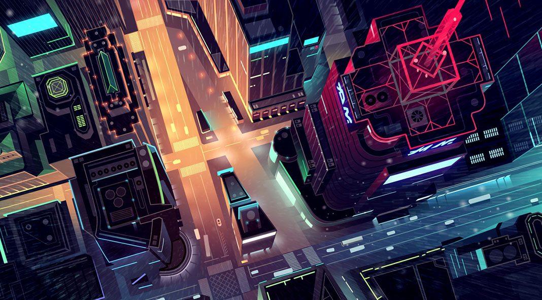 Gone illustration series by Romain Trystram