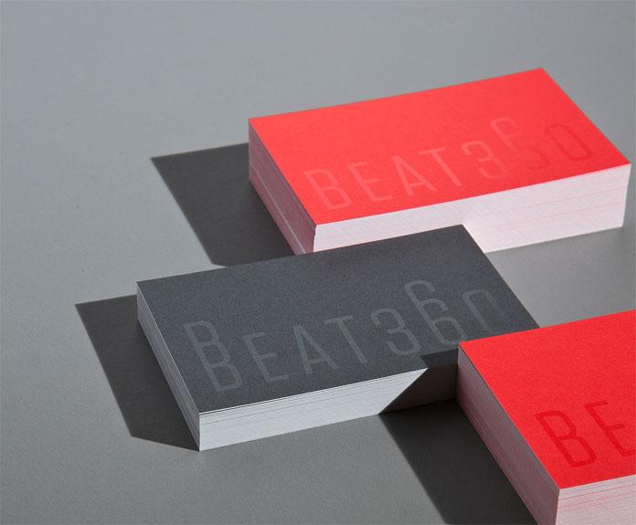 BEAT360, Close up business cards