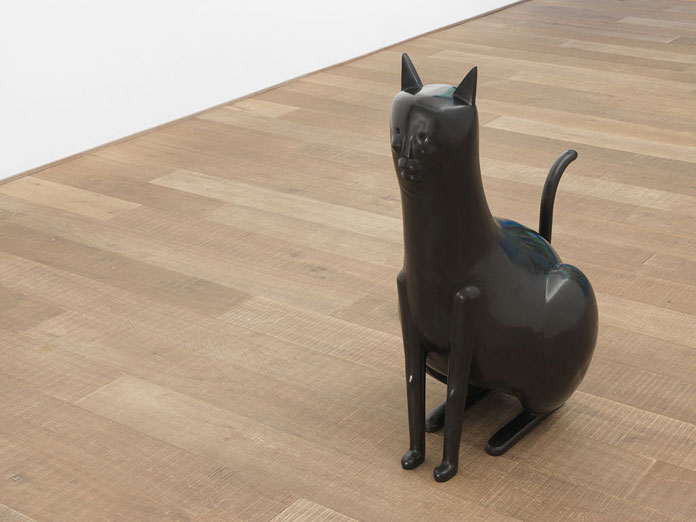 Nicolas Party, Cat bronze sculpture.