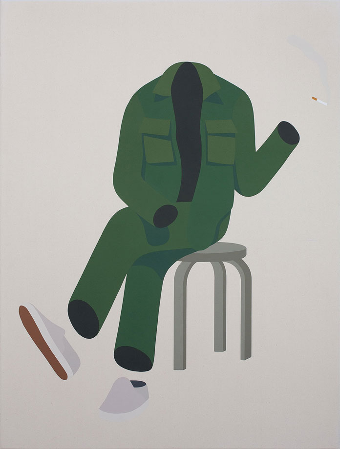 Geoff McFetridge - Poem for the Literates.