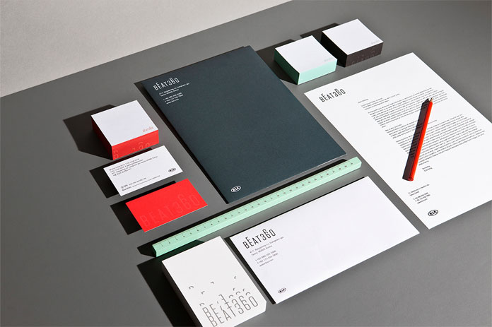 BEAT360, Printed collateral.