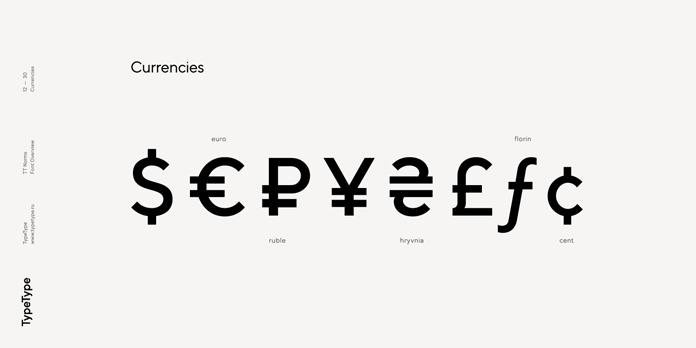 TT Norms, Currencies