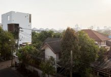 Aperture House in Bangkok, Thailand by Stu/D/O Architects.