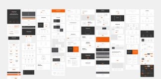 Basement Wireframe Kit for professional website prototyping.
