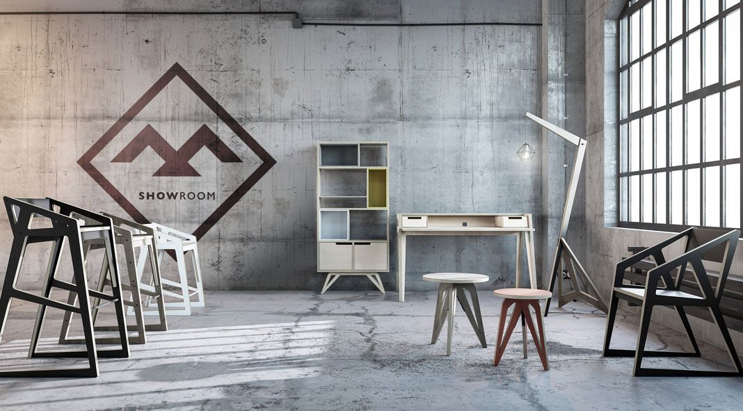 Corporate identity by Roman Vynogradnyi for Ptaha furniture company