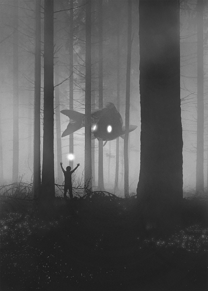 Mysterious Dark Illustrations by Dawid Planeta